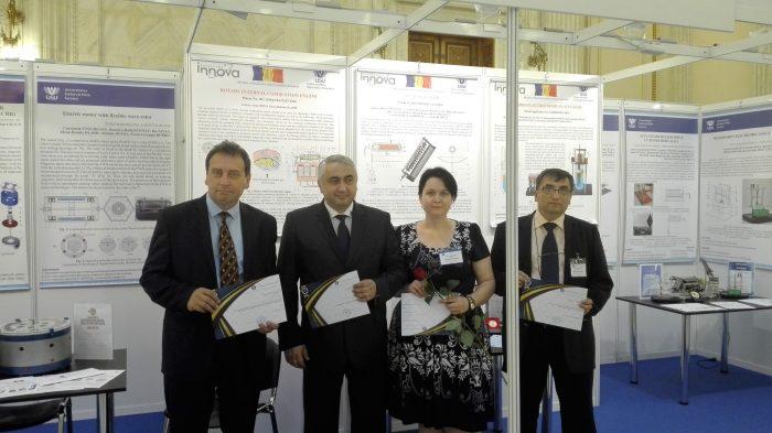 Diplomă de apreciere pentru USV la Bursa invențiilor românești