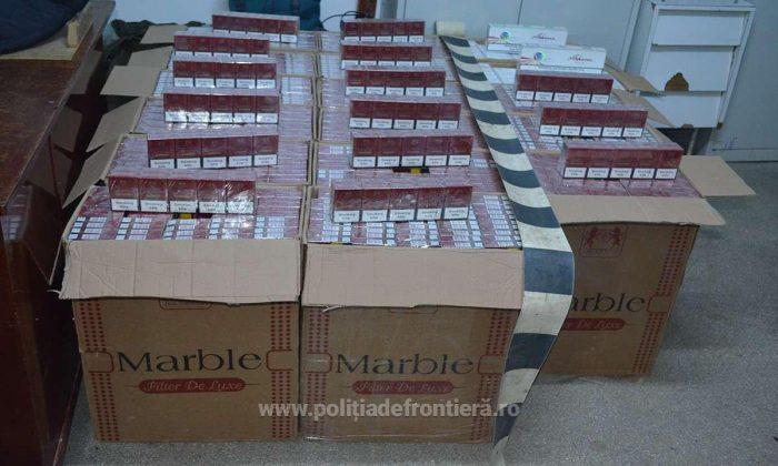Tânăr de 19 ani cercetat pentru contrabandă cu țigări, la Brodina