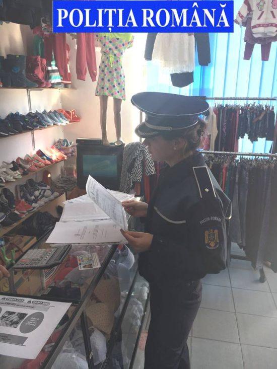 Amenzi de 10.000 lei date de polițiștii din Fălticeni pentru comerț ilicit