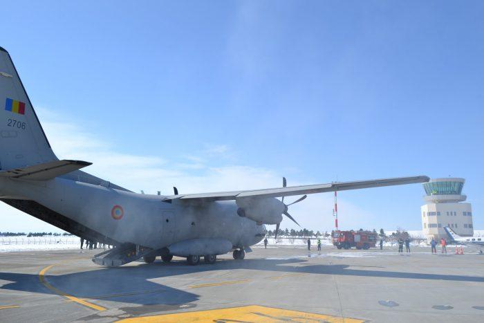 Exercițiu de salvare pe aeroportul Suceava cu activarea planului roșu de intervenție