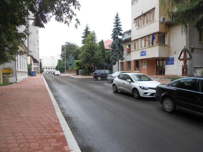 FOTO/Lucrări finalizate pe strada Vasile Bumbac din Suceava