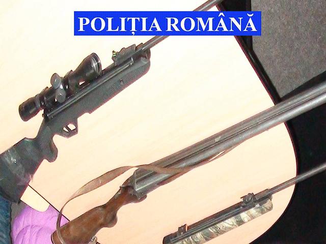 2 arme confiscate de polițiștii suceveni, în cadrul acțiunii BLOCADA