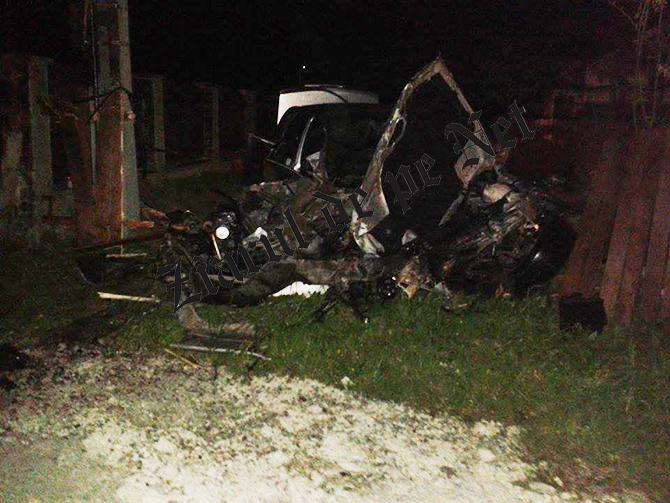 Accident BMW Rasca 4