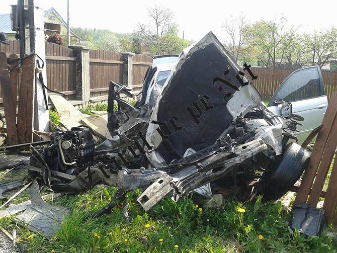 Accident BMW Rasca 6