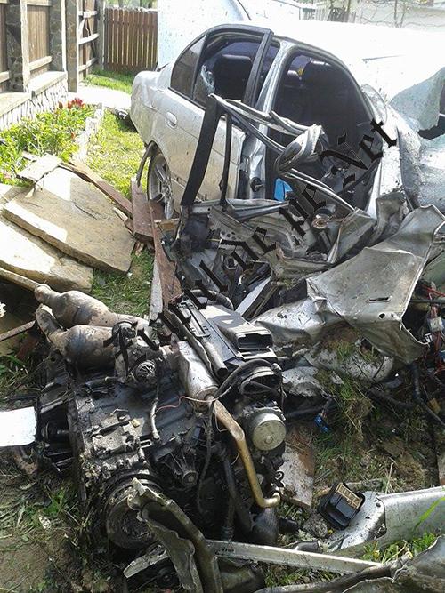 Accident BMW Rasca 7