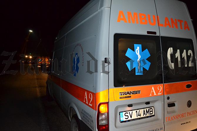Doi minori răniți după ce un conducător auto rupt de beat a produs o tamponare la Volovăț