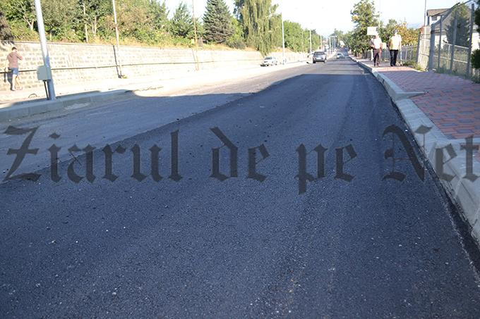 """HARASIM: """"Sperăm la un grad de mulțumire, după asfaltarea străzii Sucevei"""""""