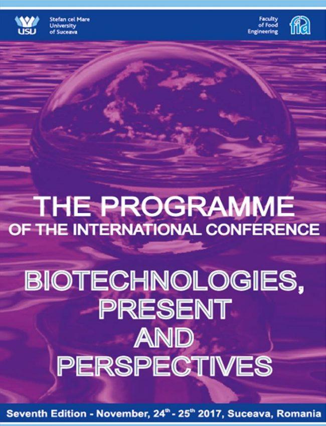 Conferință internațională Biotechnologies – present and perspective, la USV