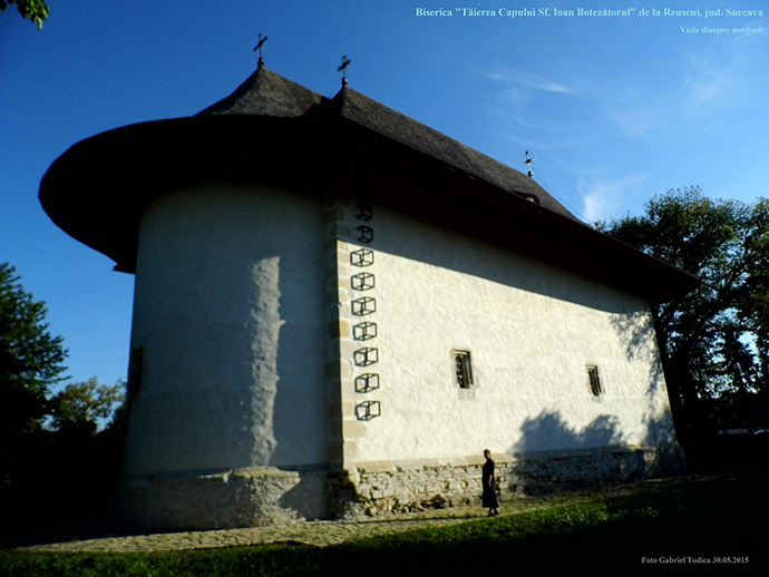 Biserica Taierea capului Sf Ioan Botezatorul Reuseni   NE