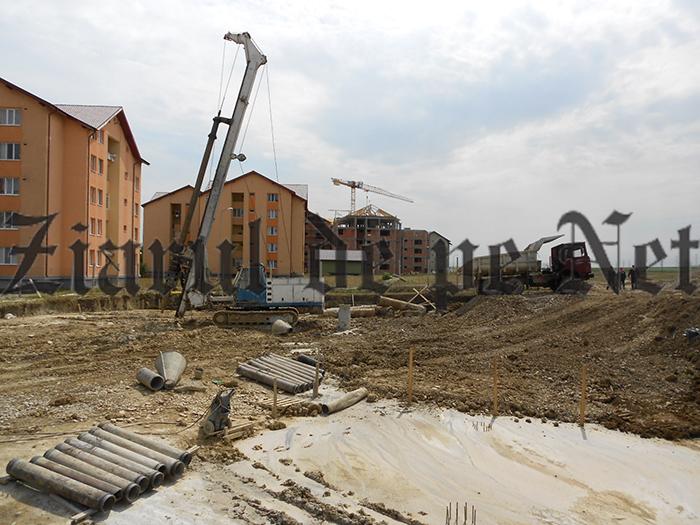 Racorduri la utilități pentru blocurile ANL din Suceava