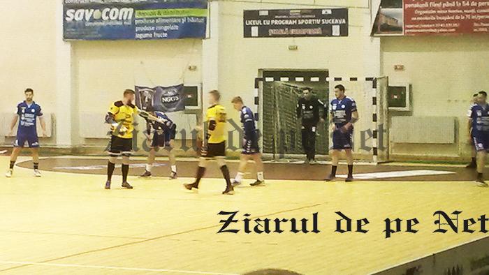 Victorie mare: CSM Focșani – CSUSuceava 25 – 26