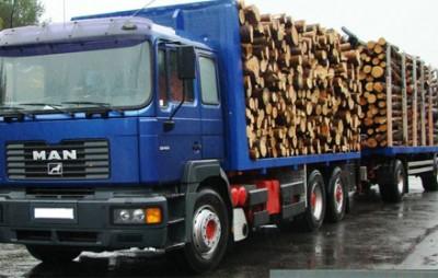 Transport de material lemnos ilicit la Bucșoaia