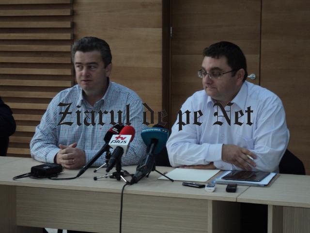 Catalin Nechifor si Iulian Matache la Centrul Economic Bucovina 10.10.2015