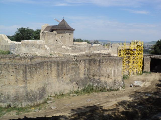 Cetatea de Scaun Suceava vizita lucrari 03.07 (2)