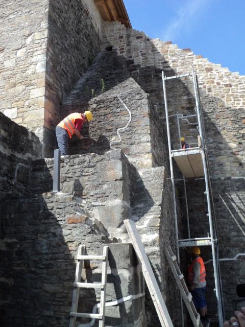 Cetatea de Scaun Suceava vizita lucrari 03.07 (9)
