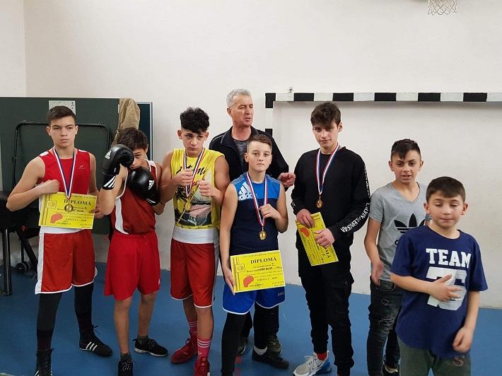 """Clubul de box ACS Nada Florilor a câștigat locul I pe echipe la prima ediție a Cupei """"Doru Zancu"""""""