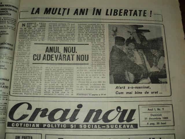 ZORII LIBERTĂȚII: La mulți ani libertate…