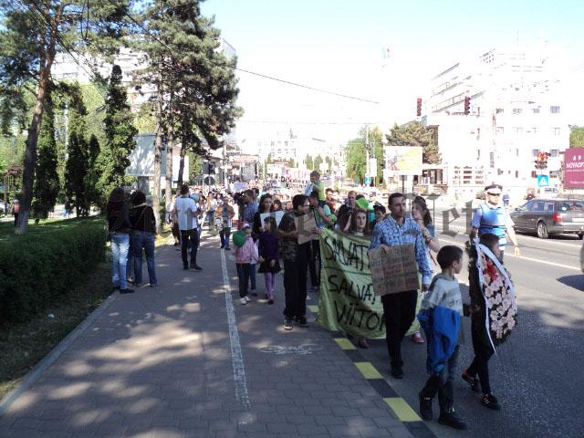5 iunie – nou protest al ecologiștilor la Suceava