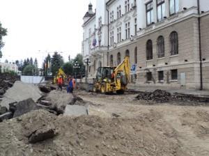 lucrari pietonal zona CJ Suceava 03.07.2015
