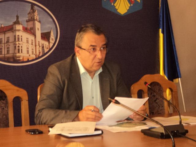 Florin Sinescu, prefectul judetului Suceava