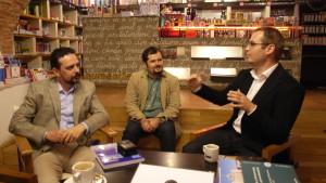 Daniel Șandru, Radu Vancu și Bogdan Gheorghiță