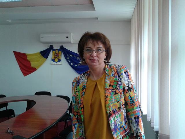 Daniela Marcoci (DSP Neamț) a revenit la Spitalul Județean Suceava pentru a coordona funcționarea non-COVID