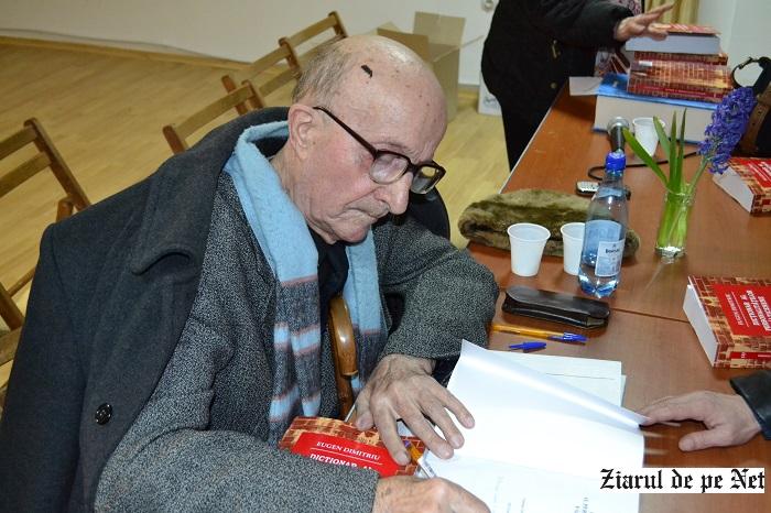 Eugen Dimitriu, premiat de Filiala Iași a USR