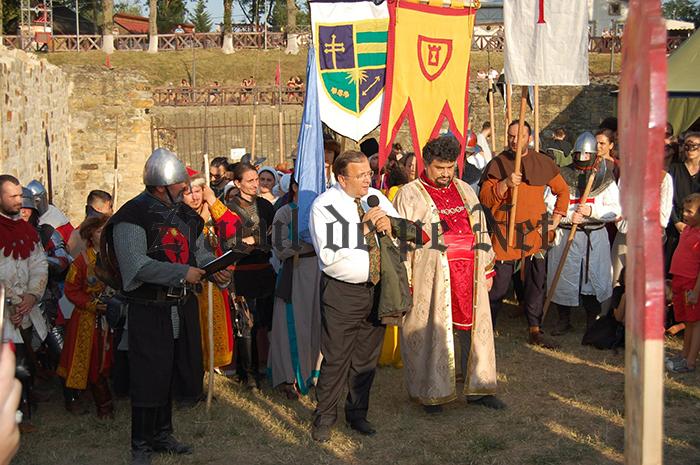 Flutur și Lungu, încântați de Festivalul Medieval de la Suceava
