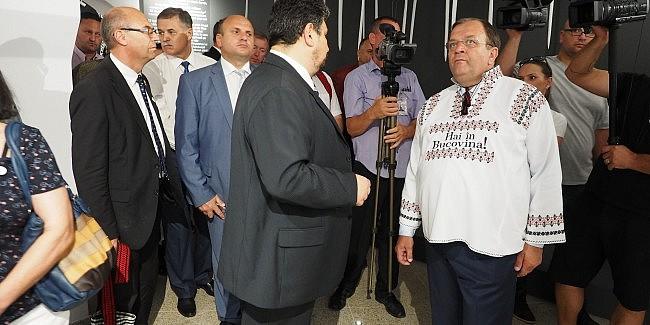 """Flutur promite reclamă pentru județul Suceava la târgul din Viena:""""Vom organizaacțiuniconsistente pe plan național şi internațional"""""""