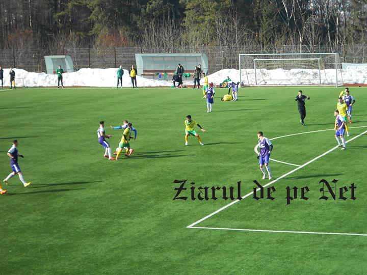 Foresta Suceava – Șomuz Fălticeni 6 – 2, în meci amical