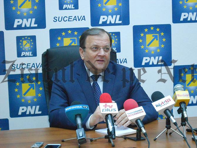 """Flutur dă de înțeles că PNL Suceava nu va avea candidat la alegerile europarlamentare: """"Poate stau acasă și fac administrație"""""""
