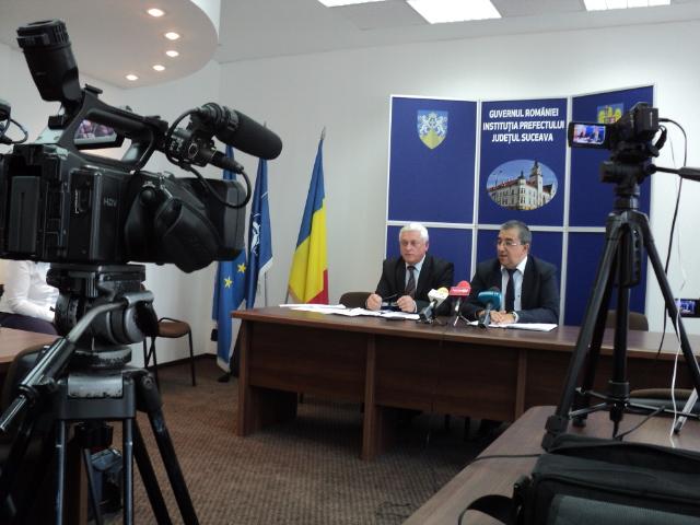 Gheorghe Lazar si Florin Sinescu conf.presa 12.09.2014