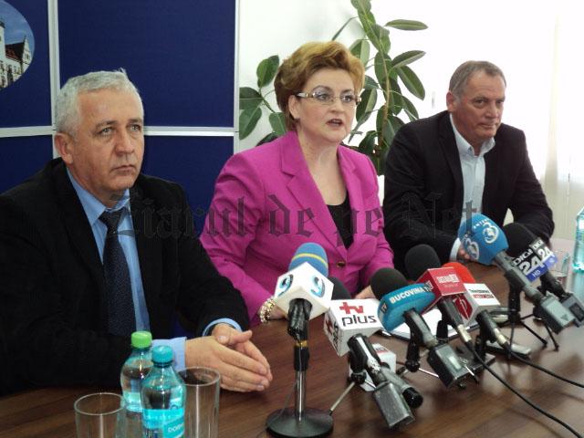 Gratiela Gavrilescu si  Constantin Harasim la Suceava 08.05.2015