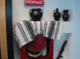 Hidrant de la Centrul Traditiilor Populare Suceava aprilie 2015