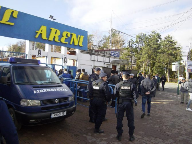 50 de jandarmi vor asigura ordinea la meciurile din weekend, la Suceava