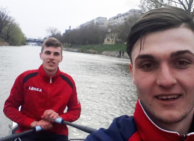 Campionii la canotaj IANOȘ și TUDOSĂ, bacalaureat special