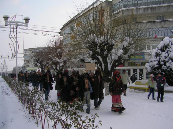 Iarna la Falticeni