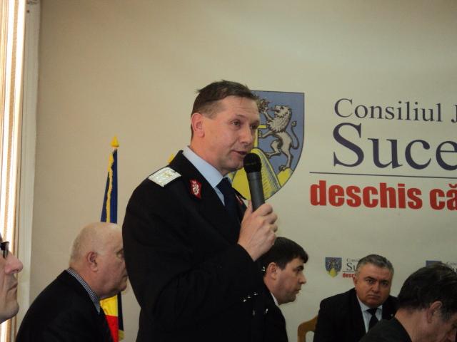 Ion BURLUI, seful ISU Suceava 30.03.2015