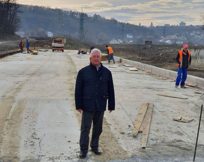 Primarul Lungu anunță că podul Unirii va fi inaugurat pe 1 mai