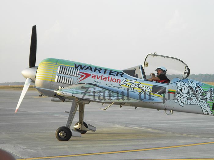 Jurgis Kairys revine la Suceava Air Show