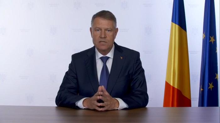 """Klaus Iohannis: """"De acum înainte, urmează săptămâni foarte dificile, care vor fi critice pentru sistemul de sănătate din România"""""""