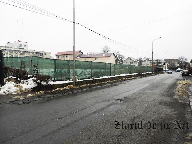 Sens giratoriu pentru noul supermarket Lidl de la Suceava