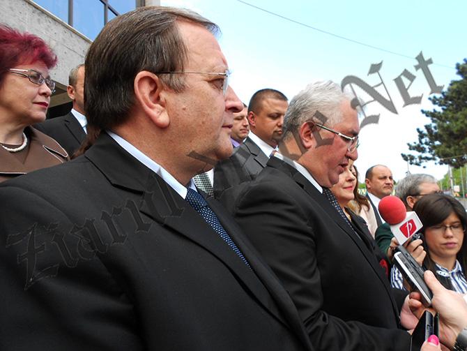 Pur electoral: LUNGU îl laudă pe FLUTUR pentru acordarea banilor la șoseaua de centură, dar habar n-are când va fi terminată
