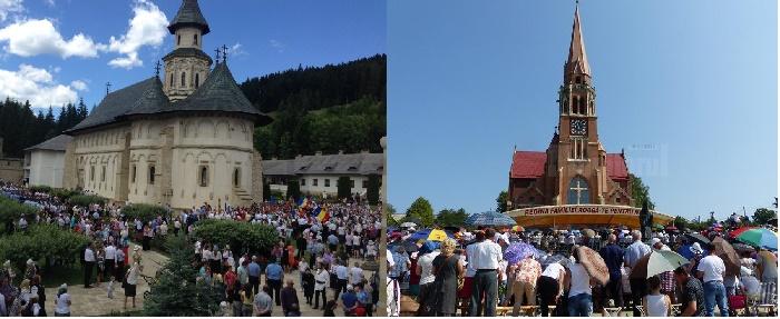 Pelerinaje la Mănăstirea Putnași la Basilica Cacica, pe 15 august