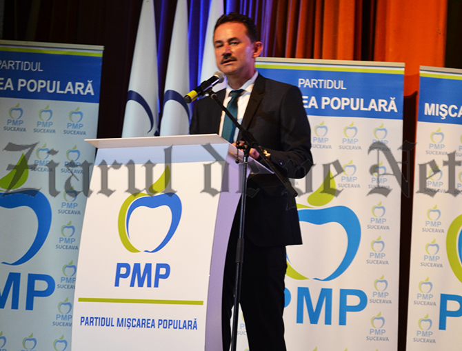 Andronache susține că PMP este singurul partid care încearcă să le explice românilor ce înseamnă Uniunea Europeană
