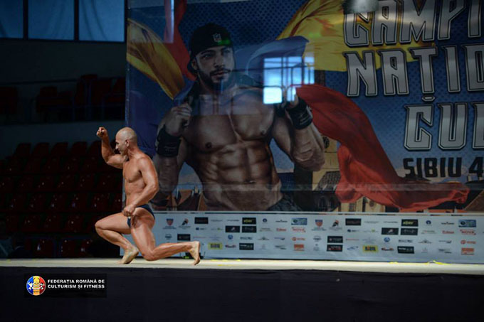 Marius Mosneagu bronz la CN Culturism Sibiu 2015 (2)