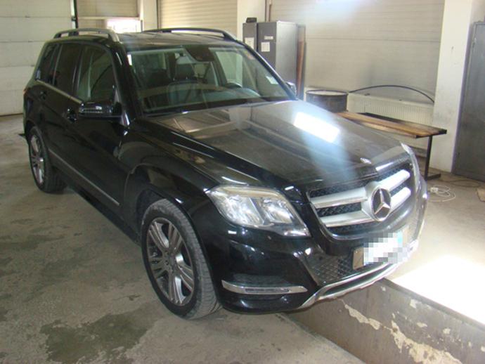 Mercedes Benz furat din Italia gasit in Vama Siret 18.06.2015