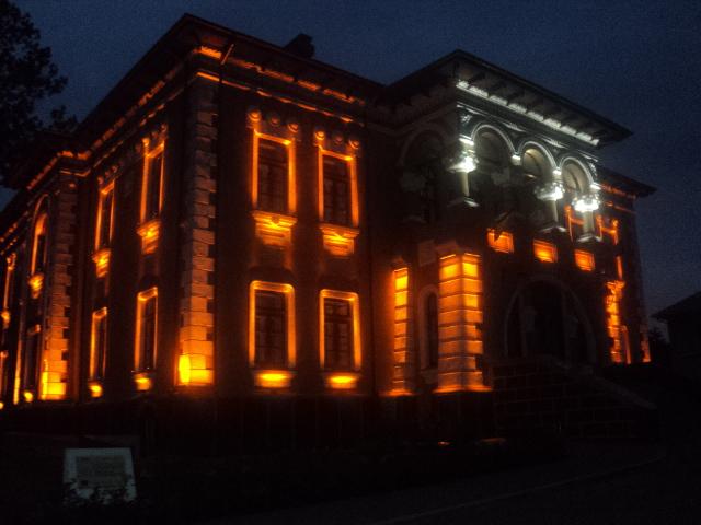 Muzeul Irimescu seara