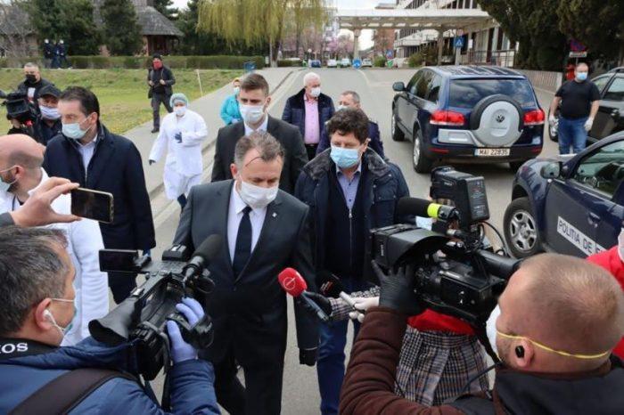 Ministrul Sănătății Nelu Tătaru, declarații despre situația de la Suceava după videoconferița cu președintele și premierul