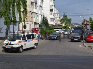 percheziții la Costică GUȘĂ, pe bulevardul 2 Grăniceri din Fălticeni